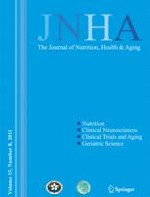 The journal of nutrition, health & aging 8/2011