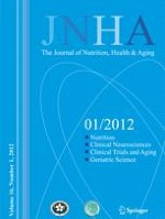 The journal of nutrition, health & aging 1/2012