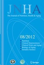 The journal of nutrition, health & aging 8/2012