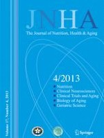 The journal of nutrition, health & aging 4/2013