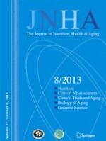 The journal of nutrition, health & aging 8/2013