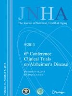 The journal of nutrition, health & aging 9/2013