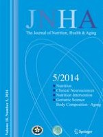 The journal of nutrition, health & aging 5/2014