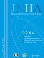The journal of nutrition, health & aging 9/2014