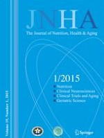 The journal of nutrition, health & aging 1/2015