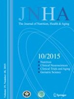 The journal of nutrition, health & aging 10/2015