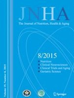 The journal of nutrition, health & aging 8/2015
