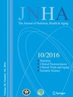 The journal of nutrition, health & aging 10/2016