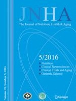 The journal of nutrition, health & aging 5/2016