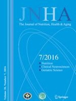 The journal of nutrition, health & aging 7/2016