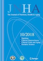 The journal of nutrition, health & aging 10/2018