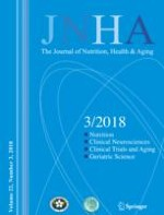 The journal of nutrition, health & aging 3/2018