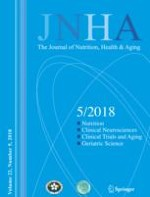 The journal of nutrition, health & aging 5/2018
