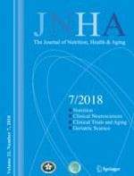 The journal of nutrition, health & aging 7/2018