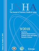 The journal of nutrition, health & aging 9/2018