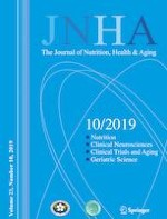 The journal of nutrition, health & aging 10/2019