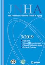 The journal of nutrition, health & aging 3/2019