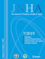 The journal of nutrition, health & aging 7/2019