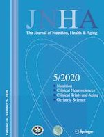 The journal of nutrition, health & aging 5/2020