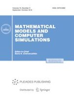 Mathematical Models and Computer Simulations 5/2018