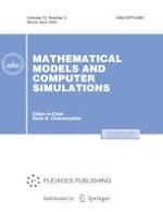 Mathematical Models and Computer Simulations 2/2020