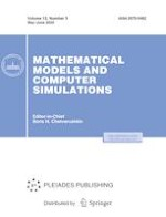 Mathematical Models and Computer Simulations 3/2020