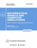 Mathematical Models and Computer Simulations 1/2015