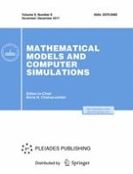 Mathematical Models and Computer Simulations 6/2017