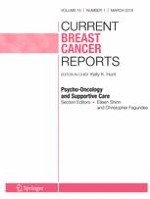 Current Breast Cancer Reports 1/2018