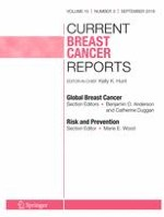 Current Breast Cancer Reports 3/2018