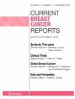 Current Breast Cancer Reports 4/2018