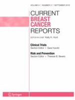 Current Breast Cancer Reports 3/2016
