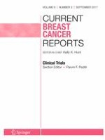 Current Breast Cancer Reports 3/2017