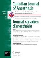 Canadian Journal of Anesthesia/Journal canadien d'anesthésie 7/2010