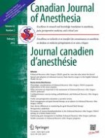 Canadian Journal of Anesthesia/Journal canadien d'anesthésie 2/2015