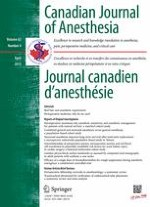 Canadian Journal of Anesthesia/Journal canadien d'anesthésie 4/2015