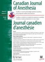 Canadian Journal of Anesthesia/Journal canadien d'anesthésie 10/2016