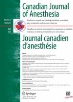 Canadian Journal of Anesthesia/Journal canadien d'anesthésie 4/2016