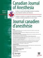 Canadian Journal of Anesthesia/Journal canadien d'anesthésie 6/2016