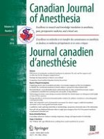 Canadian Journal of Anesthesia/Journal canadien d'anesthésie 7/2016