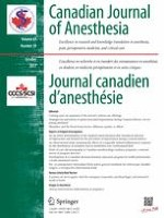 Canadian Journal of Anesthesia/Journal canadien d'anesthésie 10/2017
