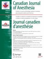Canadian Journal of Anesthesia/Journal canadien d'anesthésie 11/2017