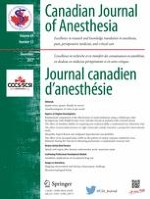 Canadian Journal of Anesthesia/Journal canadien d'anesthésie 12/2017