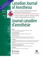Canadian Journal of Anesthesia/Journal canadien d'anesthésie 2/2017