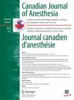 Canadian Journal of Anesthesia/Journal canadien d'anesthésie 3/2017
