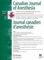 Canadian Journal of Anesthesia/Journal canadien d'anesthésie 4/2017