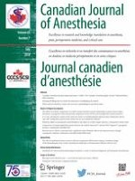 Canadian Journal of Anesthesia/Journal canadien d'anesthésie 7/2018
