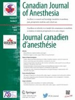Canadian Journal of Anesthesia/Journal canadien d'anesthésie 8/2018