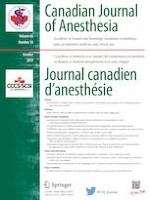 Canadian Journal of Anesthesia/Journal canadien d'anesthésie 10/2019