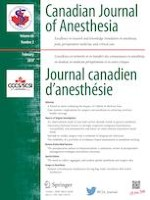 Canadian Journal of Anesthesia/Journal canadien d'anesthésie 2/2019
